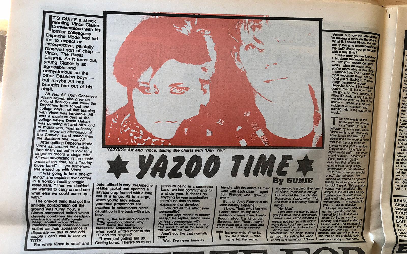 Yazoo Time