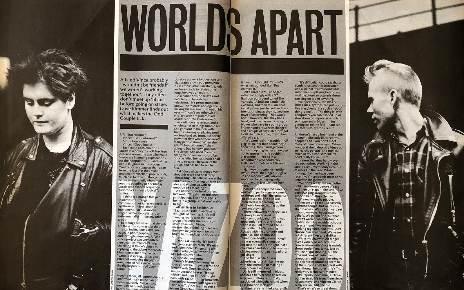 Yazoo: Worlds Apart