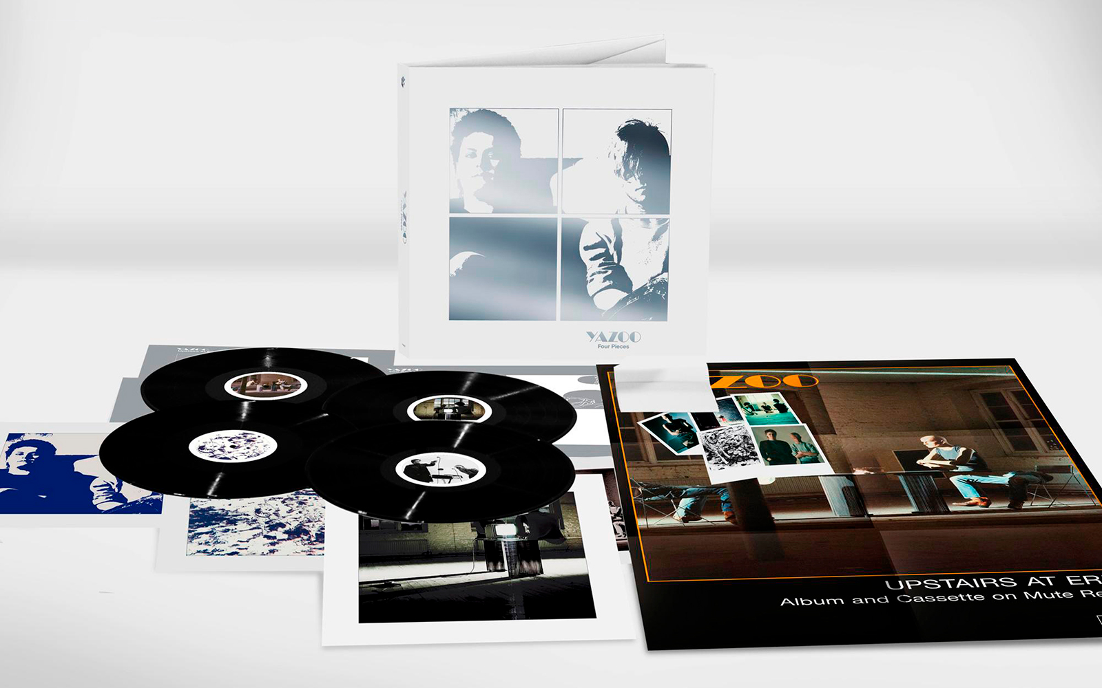 Yazoo announce Four Pieces deluxe vinyl only box set
