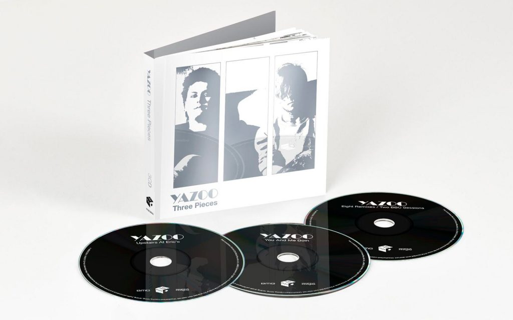 Three Pieces CD edition officially announced