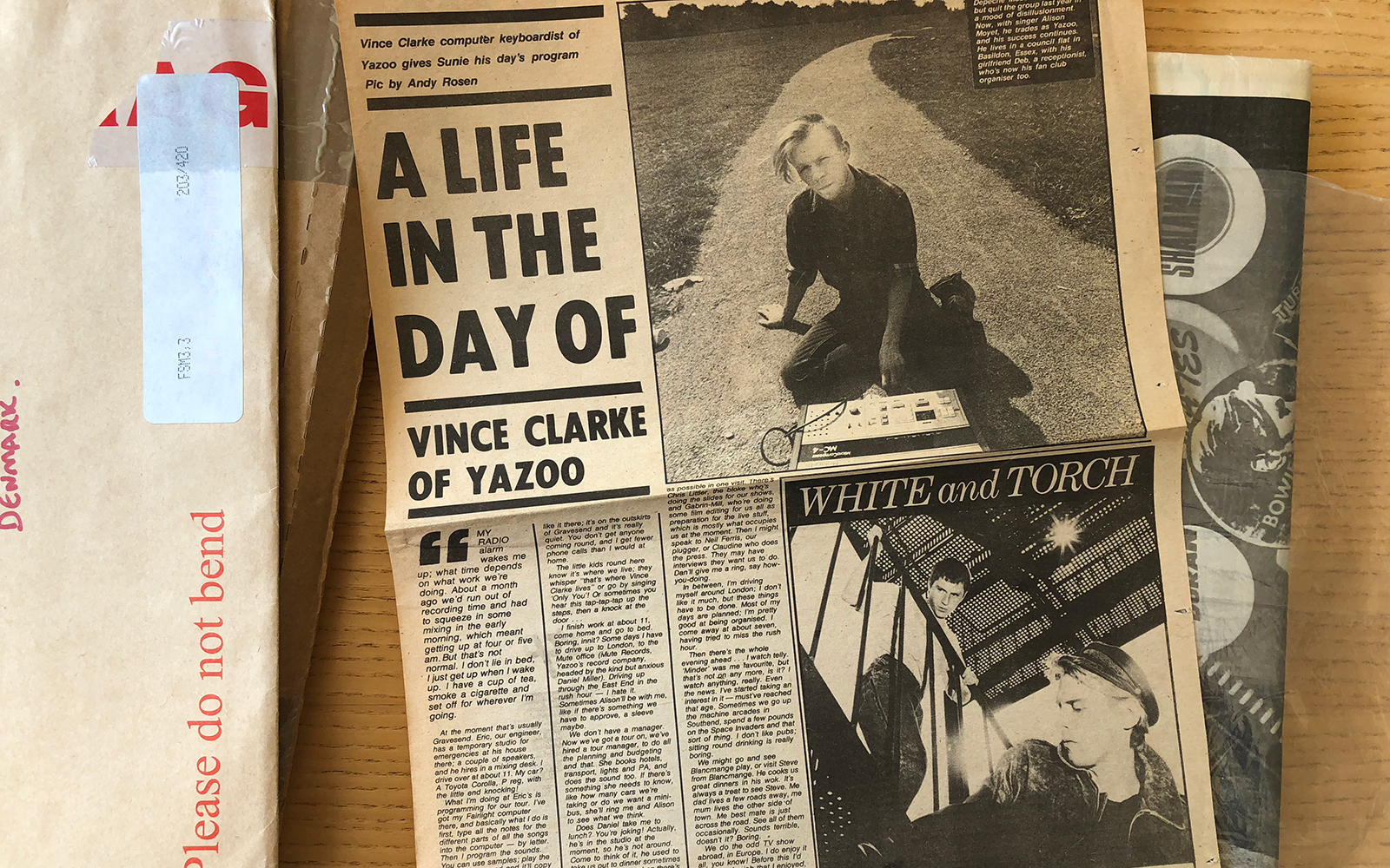 A Life In The Day Of - Vince Clarke of Yazoo